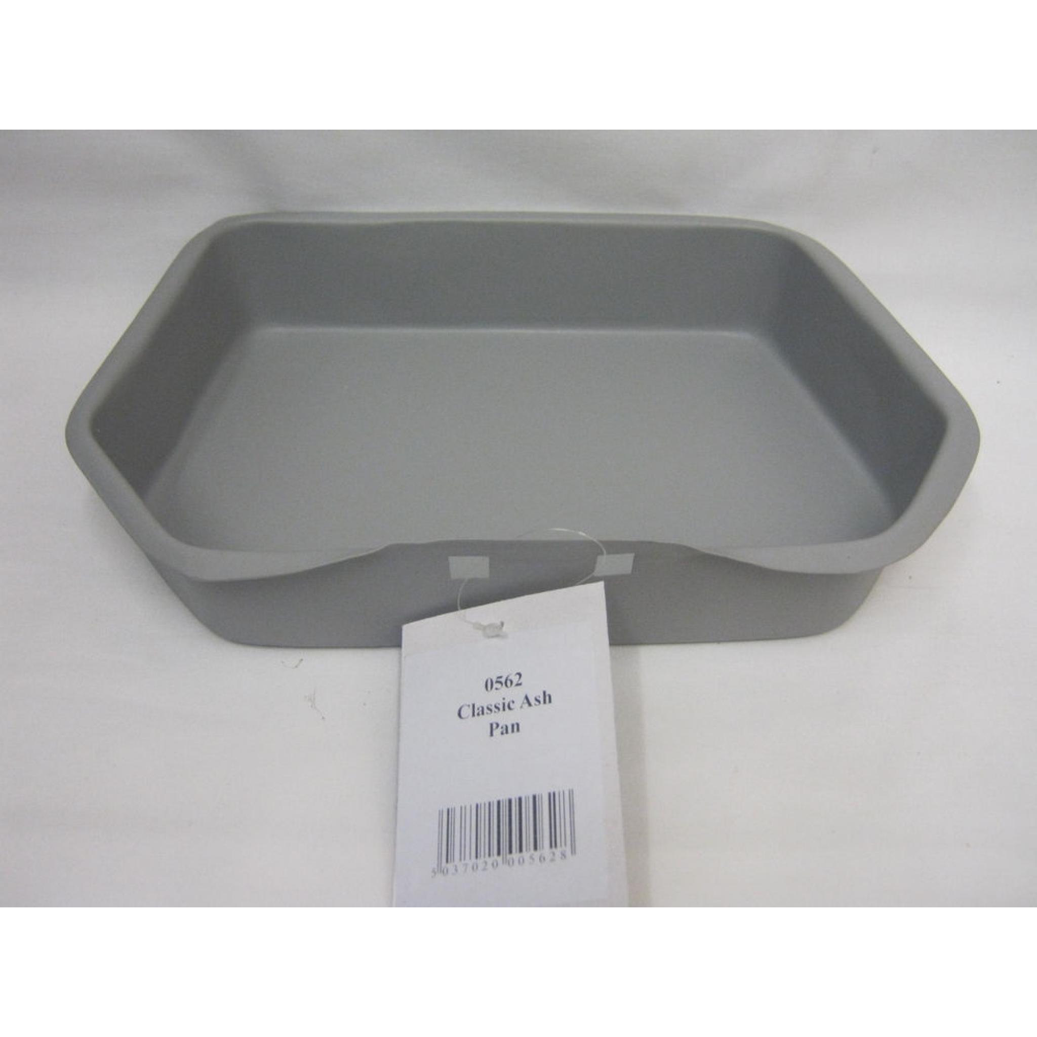 new manor deep classic ashpan grey metal ash pan coal grate fire 0562