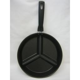 New Pendeford Non Stick 3 Section Frying Pan 26cm Detachable Handle 608
