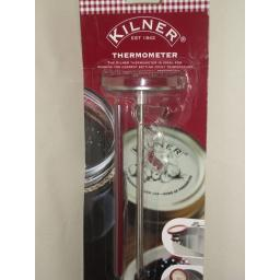 New Kilner Jam Preserve Stainless Steel Cooking Baking Thermometer