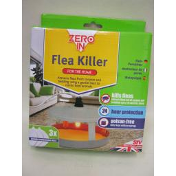 New Zero In Stv Electric Flea Killer Trap Unit Poison Free Dog Cats ZER020