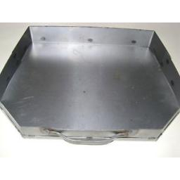 New Classic Steel Ash Pan Ashpan For Traditional Coal Fire Grate 16in