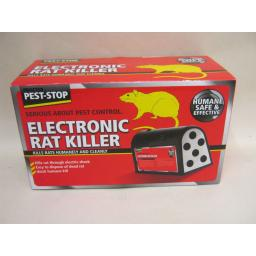 New Pest Stop Electronic Rat Killer Humane Safe And Effective PSERK