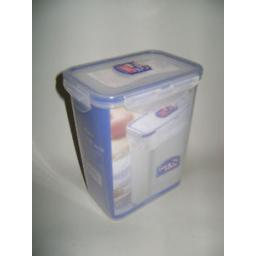 New Lock & Lock Rectangular 1.8L Flour Food Container HPL813