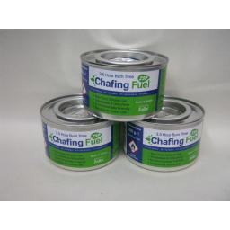 New Chafing Dish Chafer Gel Fuel 3.5 Hours Burn Pk3