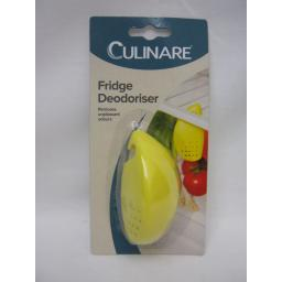 New DKB Culinare Lemon Fridge Fresh Removes Unpleasant Odours Yellow C49002