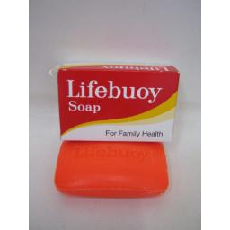 New Unilever Traditional Lifebuoy Household Soap Red/Orange 85g