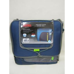 New Thermos Radiance Insulated Cooler Cool Bag 36 Can 30 Litre Navy 148885