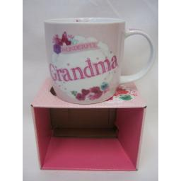 New BGC Fine China Mug Beaker Coffee Cup Tea Wonderful Grandma KL0024-1