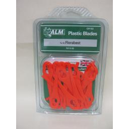New ALM Plastic Blades For Lidl Florabest Trimmers FAT18 B2 GR182