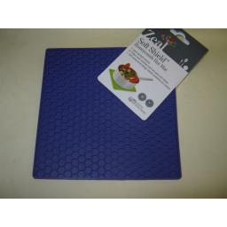New CKS Zeal Silicone Kitchen Honeycomb Hot Mat Square Trivet J352 Purple