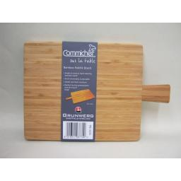 New Grunwerg Commichef Bamboo Paddle Chopping Serving Board 45cm x 23cm