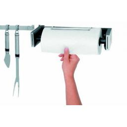 New Brabantia Kitchen Paper Towel Roll Holder Auto Roll Stop One Hand Wall Mount