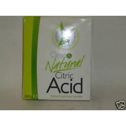 New Dri Pak Clean & Natural Citric Acid 250g Descaler