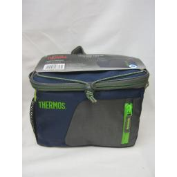 New Thermos Radiance Insulated Cooler Cool Bag 6 Can 4 Litre Navy 148843