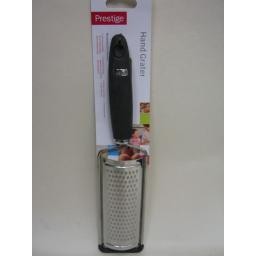 New Prestige Hand Held Stainless Steel Cheese Curved Grater 56137