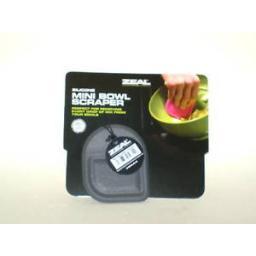 New Cks Zeal Silicone Mini Bowl Dish Baking Scraper Black NB32