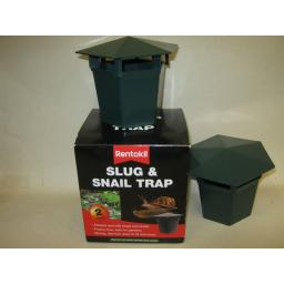 New Rentokil Plastic Slug And & Snail Trap Killer Poison Free Pk2