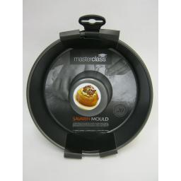 "New Master Class Savrin Ring Mould Heavy Duty Non Stick 20cm 8"" KCMCHB76"