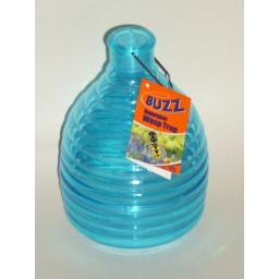 New Buzz Outdoor Wasp Honeypot Trap Killer Blue STV368