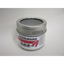 New Fackelmann Spice Condiment Tin Magnetic Base Clear View Lid