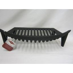 New Cast Iron Stool Fire Grate for Open Coal Fires For A 18in Opening Black