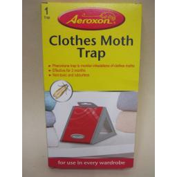 New Aeroxon Clothes Pheromone Moth Trap Non Toxic And Odourless 1 X Trap