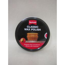 New Rentokil Classic Wax Polish Tin Shines Beeswax Protects From Woodworm 80g