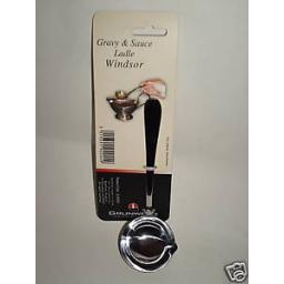 New Windsor Stainless Steel Gravy and Sauce Ladle Spoon