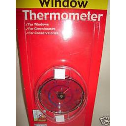 New Brannan Window Thermometer Temperature Gauge Greenhouse