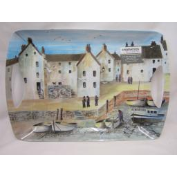New Creative Tops Large Handled Serving Dinner Tray Cornish Harbour 5169623