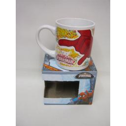 New Boyz Toys Marvel Spiderman Ceramic Tea Coffee Childrens Mug Gift Boxed 78306