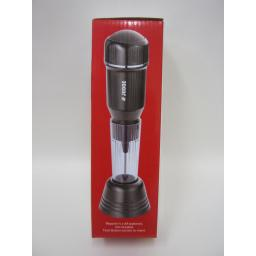 New Judge Drinks Frother Milk Latte Coffee Battery Operated & Stand TC344 Black