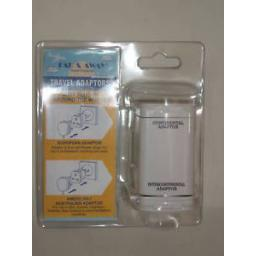 New Far And Away World Wide Plug In Travel Adaptor 1670