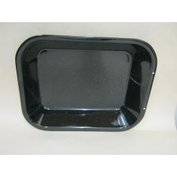 New Pendeford Enamel Small Oblong Roaster Roasting Dish Black P811
