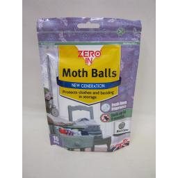 New STV Zero In New Generation Real Moth Balls PK 10 Lasts Up To 3 Months ZER436
