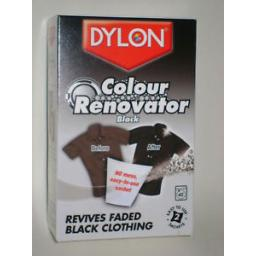 New Dylon Colour Renovator Black Reviver Machine 2x 50g