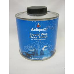 New Antiquax Liquid Wax Floor Polish 500ml For All Wooden Floors