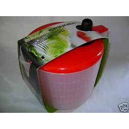 New Zeal Multi Purpose Salad Spinner And & Microwaveable Measuring Jug Red J259