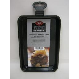New Tala Performance Bakeware Quarter Baking Tray Black Non Stick 10A10668