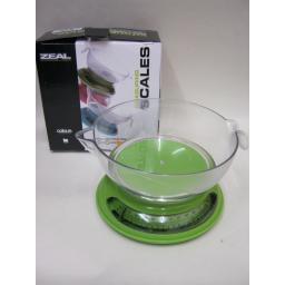 New Cks Zeal Kitchen Cooks Compact Measuring Scales Aqua Green N167
