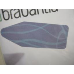 New Brabantia Cotton Ironing Board Cover B 124cm x 38cm Blue Pattern Design