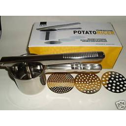 New Kilo Cks Stainless Steel Mashed Potato Ricer 3 Discs J110