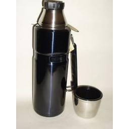 New Thermos Stainless Steel King Flask 1.2 Litre Blue