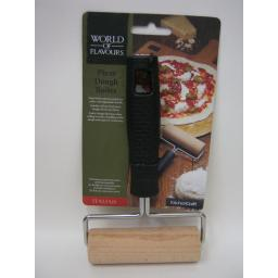 New Kitchen Craft World Of Flavours Pizza Dough Roller WFITROLLER