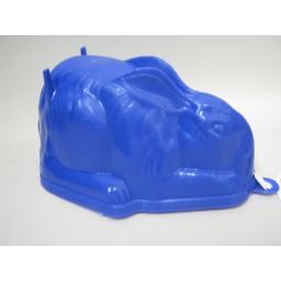 New Zeal Plastic Rabbit Shape Jelly Mould Purple L31