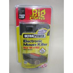 New STV The Big Cheese Ultra Power Electronic Mouse Killer STV722