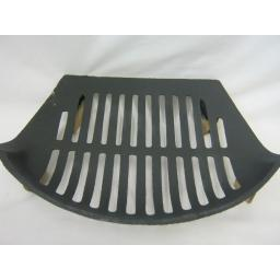 New Stool Cast Iron Fire Grate for Open Coal Fires For 16in Opening Black