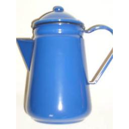 New Falcon Blue Enamel 13cm 1.25ltr Coffee Pot Camping