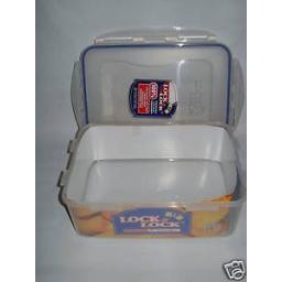 New Lock and & Lock Rectangular 2.6l Food Container HPL826