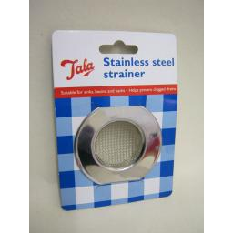 New Tala Stainless Steel Sink Bath Basin Strainer 24420